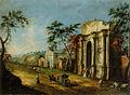 Francesco Albotto - Capriccio s klasičnim slavolokom.jpg