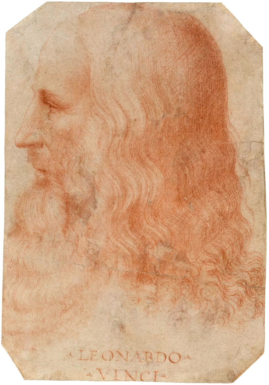 Francesco Melzi - Portrait of Leonardo