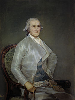 Retrato de Francisco Bayeu, quadro de Francisco de Goya y Lucientes.