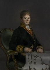 Portrait of Juan Antonio Cuervo