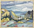Franklin Carmichael - Untitled (Pines, Lake Superior) 1925.jpg