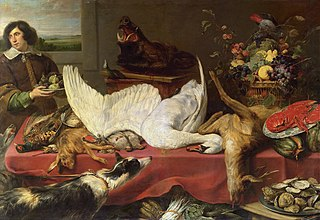 Still life with a Swan
