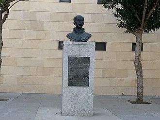 Antonio de Olivares - Monument to Fray Antonio de Olivares in Moguer