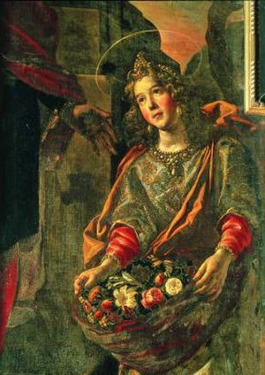 Casilda of Toledo - Image: Fray Juan Rizi casilda
