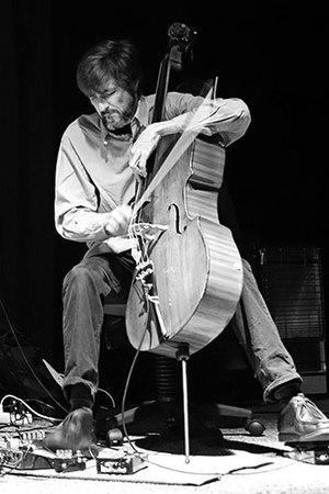 Fred Lonberg-Holm - Fred Lonberg-Holm in Aarhus, Denmark 2014   Photo Hreinn Gudlaugsson