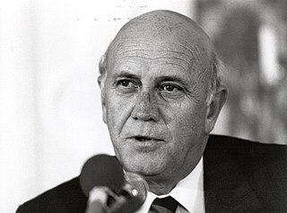 F. W. de Klerk South African politician