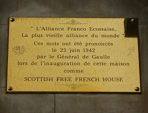 "Auld Alliance - ""La plus vieille alliance du monde"""