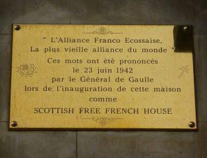 """Auld Alliance - """"La plus vieille alliance du monde"""""""