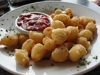 Fried cheese - Fried cheese curds