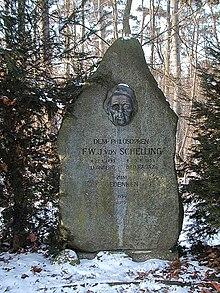 Schelling-Gedenkstein in Leonberg (Quelle: Wikimedia)