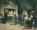 Friedrich von Puteani - Couple Dancing in a Tavern (1874).jpg