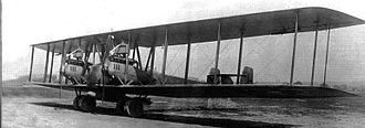 Friedrichshafen G.IV - The G.V prototype on the day of its first flight, 9 May 1918