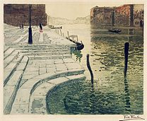 THAULOW, Frits The marble steps, 1903