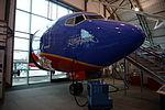 Frontiers of Flight Museum December 2015 125 (Southwest Airlines Boeing 737-3H4).jpg