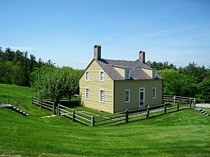 Harvard Shaker Village Historic District - Image: Fruitlands Museum exterior Shaker Office