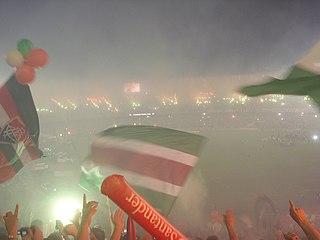 A Torcida Tricolor na final da Libertadores de 2008. O Fluminense ... fedaf86d39733