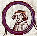 Généalogie des rois de France - Besançon Ms677 f139v Robert le Fort.jpg