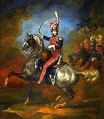 Portret konny Wincentego Krasińskiego