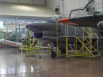Fiat G.91 - A G-91 R1 in the Istituto Tecnico Industriale Aeronautico, Udine, Friuli-Venezia Giulia, Italy, 2007