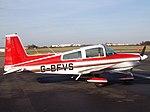 G-BFVS Grumman AA5 (31702453945).jpg