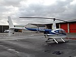 G-MUSH Robinson Raven 44 Helicopter (32423784046).jpg