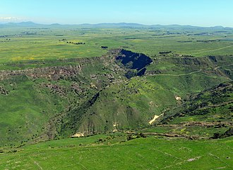 Gamla nature reserve - Image: GAMLA C AERIAL