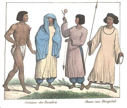 Nubians from the early 19th century Gallery of Nubians (early 19th centuy).jpg