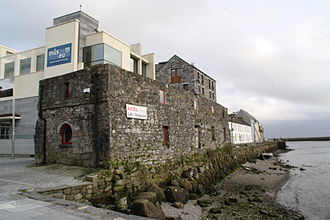 Galway City Museum - Partial View of the Galway City Museum from the Spanish Arch