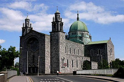 How to get to Galway Cathedral with public transit - About the place