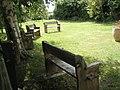 Garden behind Northney Village Hall - geograph.org.uk - 1421175.jpg