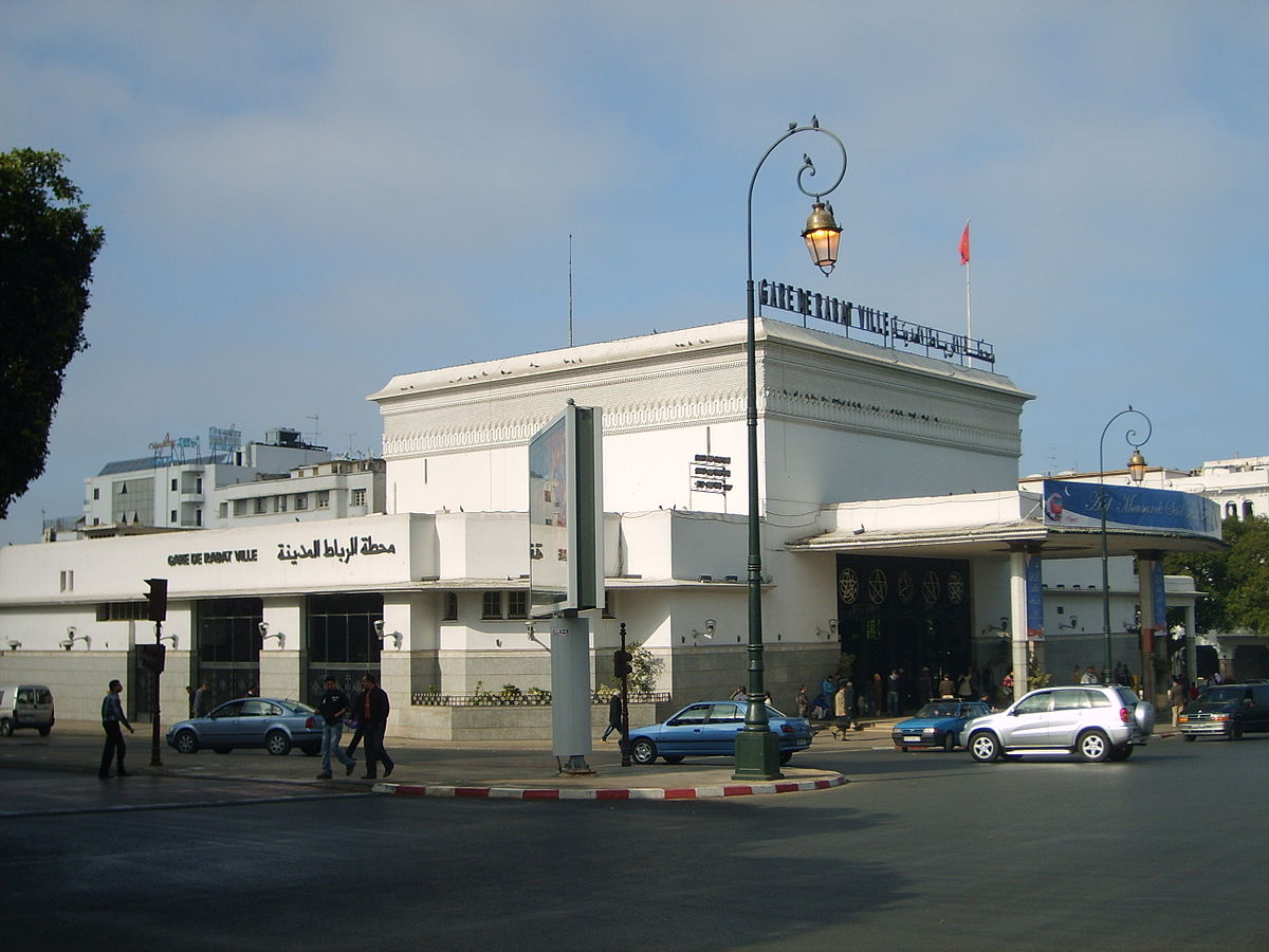 Gare de rabat ville wikip dia for Garage de la gare bretigny