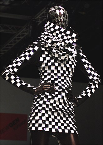 Gareth Pugh - Pugh's Spring 2007 collection also featured somewhat more wearable clothing, like this dress.