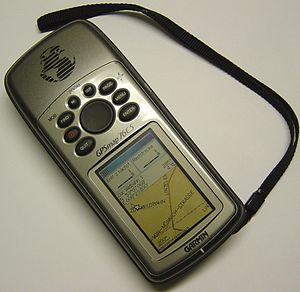 Garmin GPSmap 76CS, handheld GPS receiver, por...