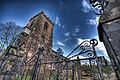 Gate of St Wilfrid's church, Grappenhall-3263877173.jpg