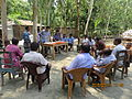 Gathering in a meeting of villagers in an Bangladeshi village 2015 18.jpg