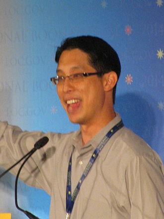 Gene Luen Yang - Yang at 2014 National Book Festival