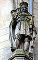 Georg I. Ludwig (George Louis), Kurfürst von Braunschweig-Lüneburg, König von Großbritannien und Irland und Titularkönig von Frankreich, Skulptur vom Bildhauer Carl (Karl) Rangenier, um 1862, Welfenschloss Hannover.jpg