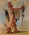 George Catlin - Tál-lee, a Warrior of Distinction - 1985.66.32 - Smithsonian American Art Museum.jpg