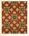 George Harrison and Co (Bradford) -Floorcloth (Victorian formal mosaic floral pattern). Stock in body cloth and 3-4 4-4 and 5-4 passage cloth. No 694-2 X. Pattern shown half size. (1880s?) (21619296901).jpg