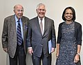 George P. Shultz with Rex Tillerson and Condoleezza Rice - 2018 (38854353365) (cropped).jpg