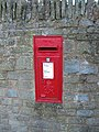 George VI postbox, Weston under Penyard - geograph.org.uk - 1041466.jpg