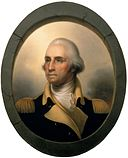 George Washington by Peale, 1823