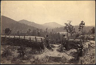 Battle of Allatoona - Allatoona Pass, circa 1862-65.