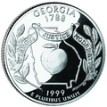 Georgia quarter, reverse side, 1999.png