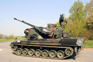 Flakpanzer Gepard - A Gepard 1A2 of the German Army