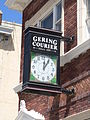 Gering Courier clock.JPG