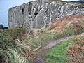Getting very near to the edge - geograph.org.uk - 1119921.jpg