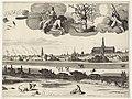 Gezicht op Haarlem (middelste blad) Haerlem (titel op object), RP-P-1898-A-20351.jpg