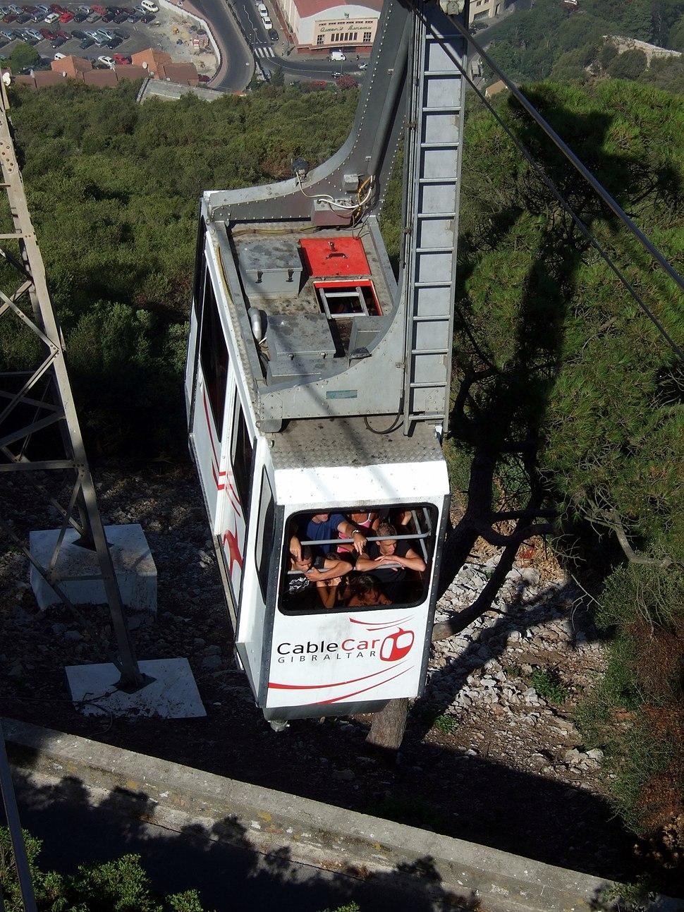 Gibraltar Cable Car 2