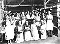 Gibraltar Evacuee Camp, Jamaica - The Luncheon Hour.jpg